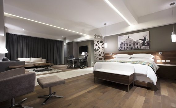 MASTER SUITE Krystal Grand Suites Insurgentes Mexico City