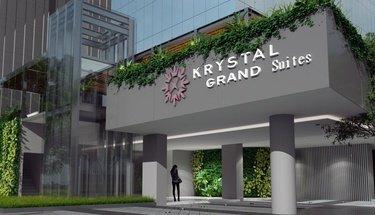 Facade Krystal Grand Suites Insurgentes Mexico City