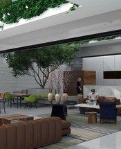 Lobby Krystal Grand Suites Insurgentes Mexico City